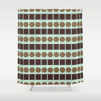 cookie monster Shower Curtains featuring Cookie Monster (mint) by Sidrah  Mahmood