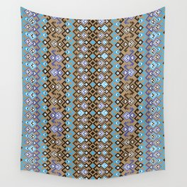 geometric ethnic ornament Wall Tapestry