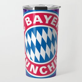 Bayern Munchen Galaxy Design Travel Mug