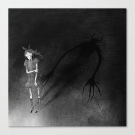 Devil in Disguise Canvas Print