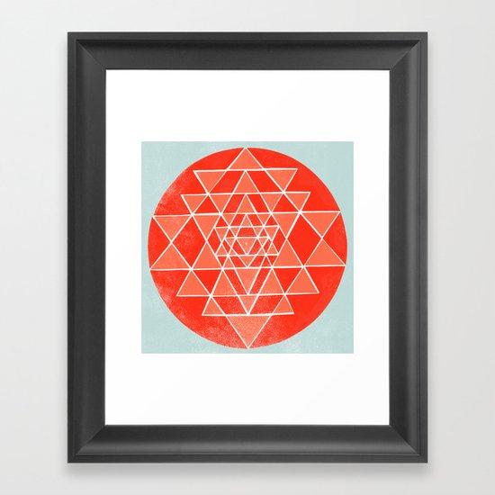 Sri Chakra  Framed Art Print