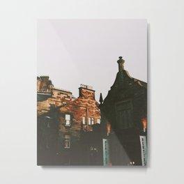 Royal Mile, Edinburgh Metal Print