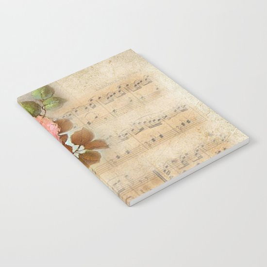 Vintage Music #5 Notebook