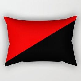 Antifa Flag Rectangular Pillow