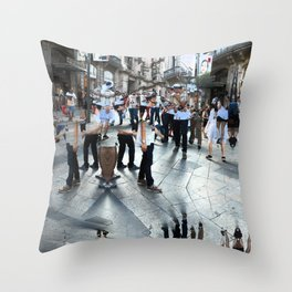 Summer space, smelting selves, simmer shimmers. 18 Throw Pillow