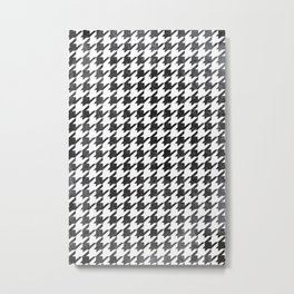 Rugged Houndstooth  Metal Print