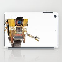 borderlands iPad Cases featuring Borderlands Claptrap Watercolour by DifficultyEasy