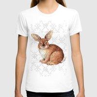 rabbit T-shirts featuring Rabbit by Patrizia Ambrosini