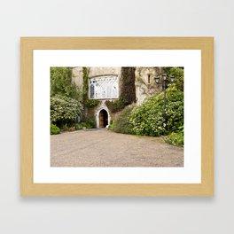 Malahide Castle Entrance Framed Art Print