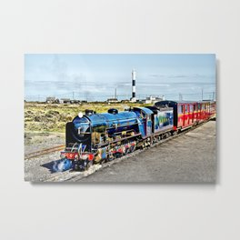 Romney Hythe and Dymchurch Railway Metal Print