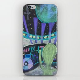 psychotronic weapons iPhone Skin