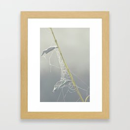 Leave a Message Framed Art Print