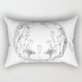 Flower wreath Rectangular Pillow