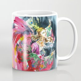 A dancing girl in a firebird suit Coffee Mug
