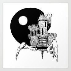 Castle of the Night Art Print