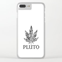Pluto's Weed Clear iPhone Case