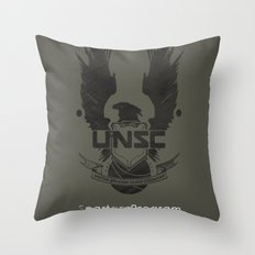 Spartan Hero Throw Pillow