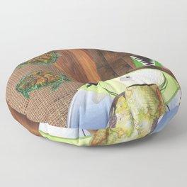 I Like Turtles Floor Pillow