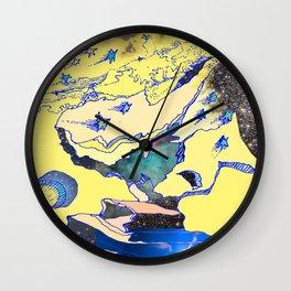 Shooting The Moon Wall Clock