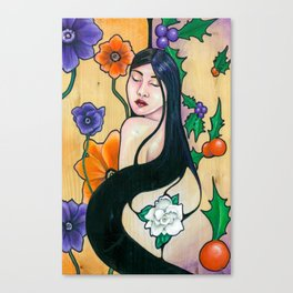 Unrequitedly Blooming (2018) Canvas Print
