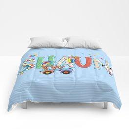 Shaun / Personalised Children's  Name Comforters