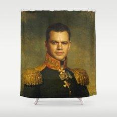 Matt Damon - replaceface Shower Curtain