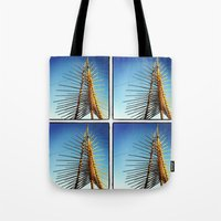 coachella Tote Bags featuring Coachella by Wolf Feather