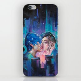 Spherical Love in the Void iPhone Skin