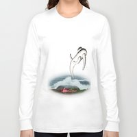 flash Long Sleeve T-shirts featuring Flash by CrismanArt