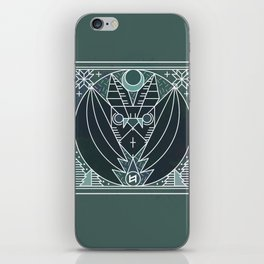 Bat from Transylvania iPhone Skin