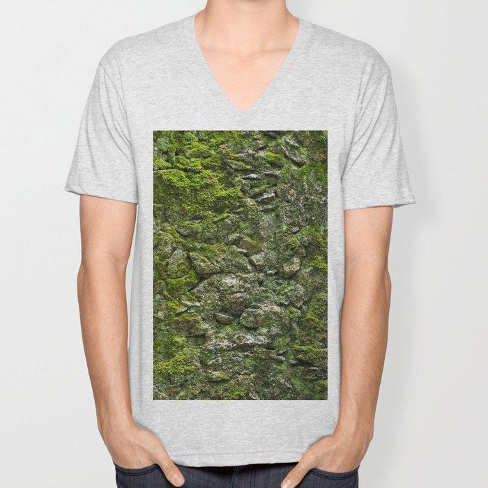 Green wall Unisex V-Neck