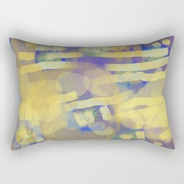 for the love of yellow Rectangular Pillow