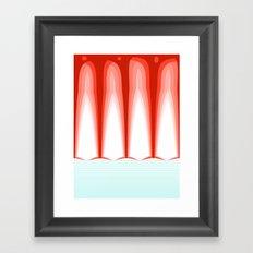 Hot Sun Mop. Framed Art Print