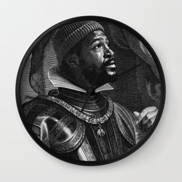 Marvin The Conqueror Wall Clock