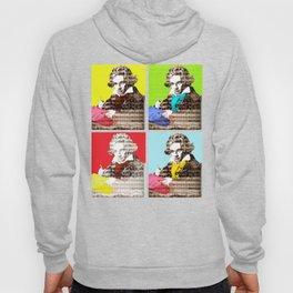 Ludwig van Beethoven 4x Hoody