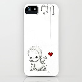 Daring to Love iPhone Case