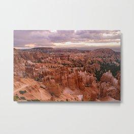 Sunset Point 6173 - Bryce_Canyon_National_Park, UT Metal Print
