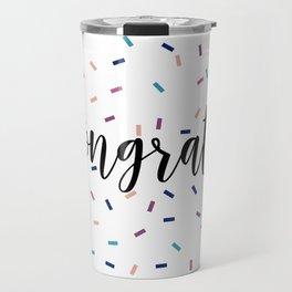 Congrats Sprinkles Travel Mug