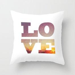 Sunset Future Love Throw Pillow