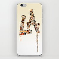 lakers iPhone & iPod Skins featuring La La Land by Dave Homer