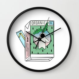 Juice Box Wall Clock