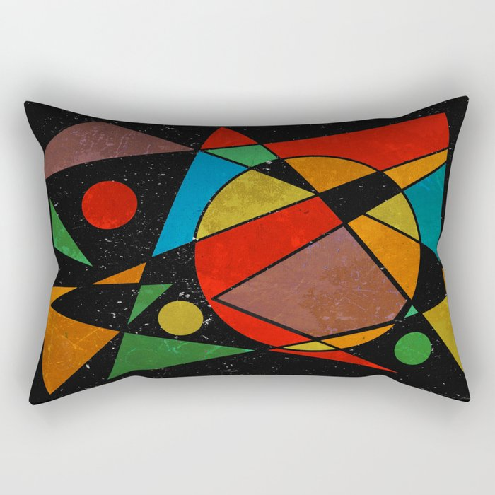 Abstract #341 Rectangular Pillow