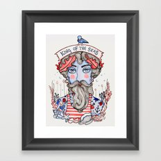 King of the Seas Framed Art Print