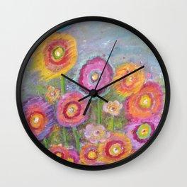 Garden of Joy Wall Clock