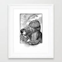 akira Framed Art Prints featuring Akira by DIVIDUS