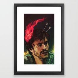 Inflamation Framed Art Print
