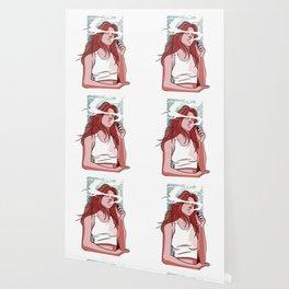 Vaping Girl Wallpaper