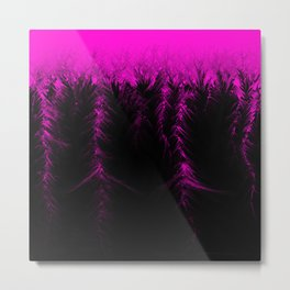Electrified Metal Print
