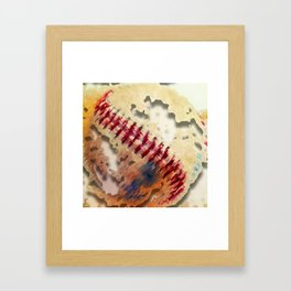 Knocking the Cover Off Framed Art Print