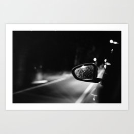 Be Quiet and Drive Art Print